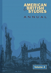 Obálka knihy: American and British Studies Annual 4/2011